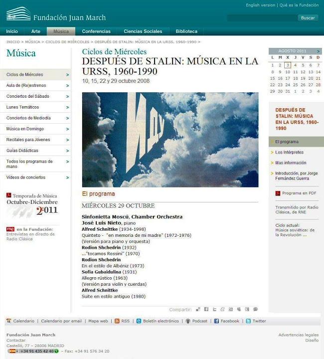 Madrid, Spain - Fundación Juan March