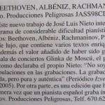 Recital en Moscú Review