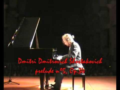 Dmitri Shostakovich - Prelude nº5, Op34